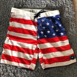 American Flag Rip Curl Swimsuit